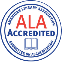 Continuously accredited by the American Library Association since 1969.