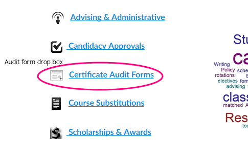 Advanced Certificate Requirements for Current iSchool Students ...