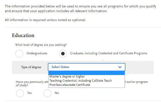 Cal State Apply Tutorial | SJSU iSchool