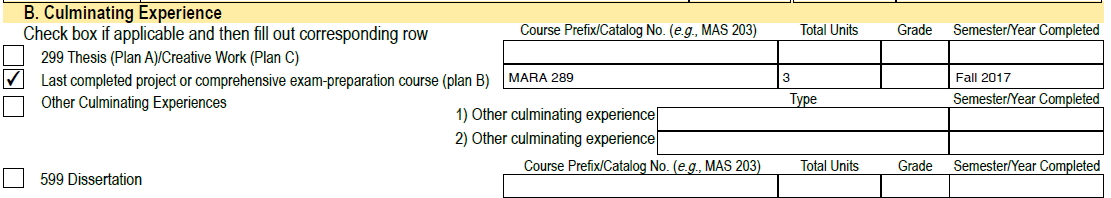 Completing the MARA Candidacy Approval Form | SJSU iSchool