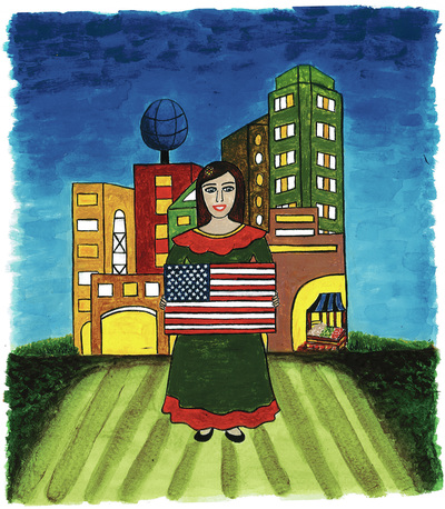 How I Learned English: The Story of a Brave Mexican Girl, by Paula Pereira