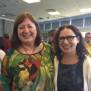 Mary Nino, Associate Dean, SJSU King Library & Sandy Hirsh, Director, iSchool
