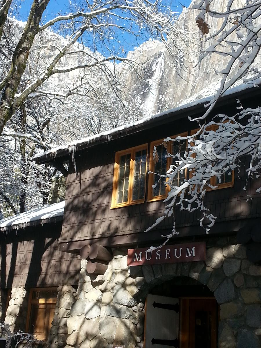 The museum and library at Yosemite National Park
