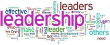 word cloud, key concept leadership