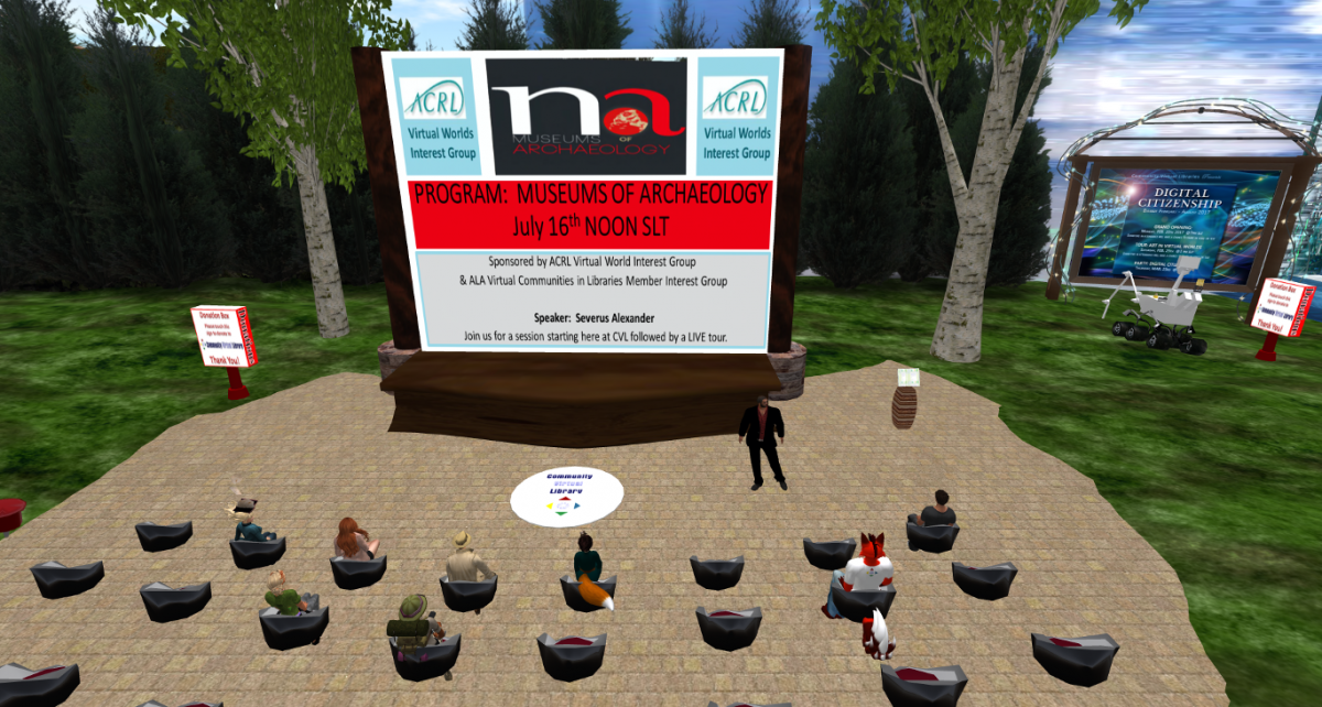 Community Virtual Library Meeting Space