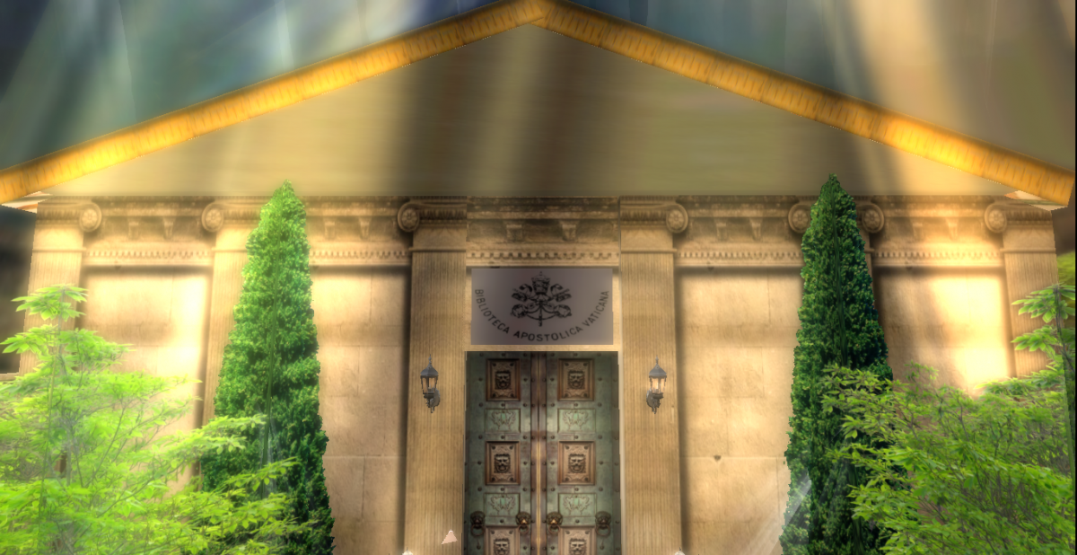 Vatican Library in Second Life