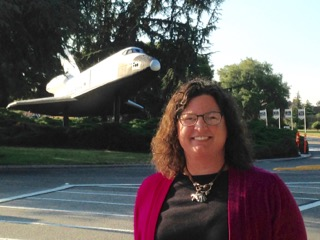 MARA student Jennifer Gavin on an internship at NASA.