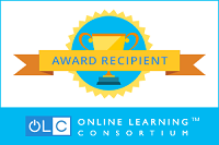 Online Learning Consortium Award