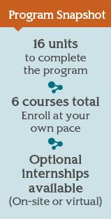 Post-Master's Certificate Program Snapshot