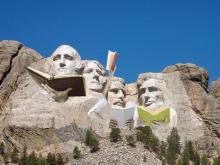 Mt Rushmore Presidents reading