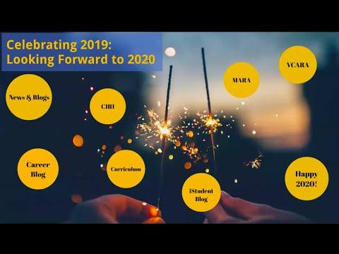 Celebrating 2019:  Looking Forward to 2020 at SJSU iSchool