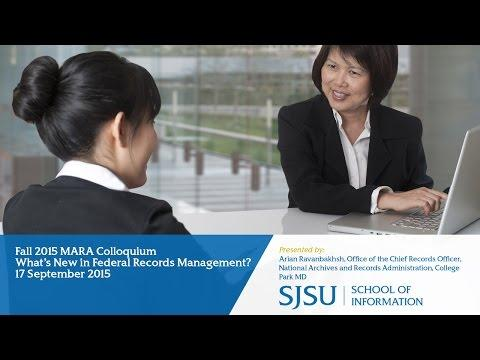 What's New in Federal Records Management?