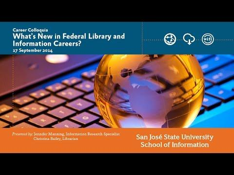 What's New in Federal Library and Information Careers?