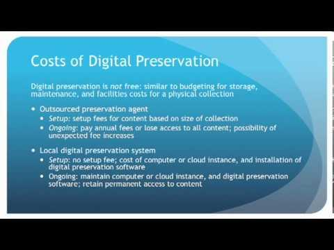 Digital Preservation for the Rest of Us: What's in it for Librarians and Library Users
