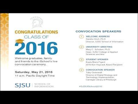 A Glorious Day for SJSU iSchool Graduates