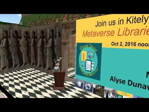 Metaverse Libraries:  Connecting Virtual World Communities