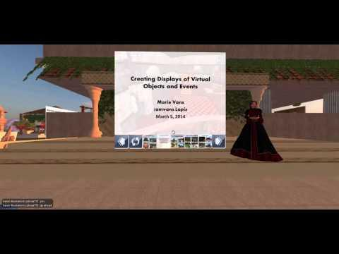Student Learning Experiences in Second Life – Student Panel from Spring 2014