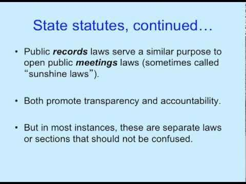 Access to Public Records: tensions between the right-to-know and the protection of privacy and the role of Records Management in addressing these issues