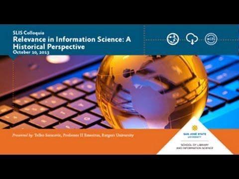 Relevance in Information Science: A Historical Perspective