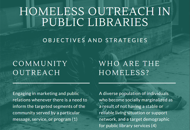Homeless Outreach in Public Libraries