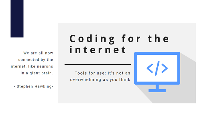 Coding for the Internet