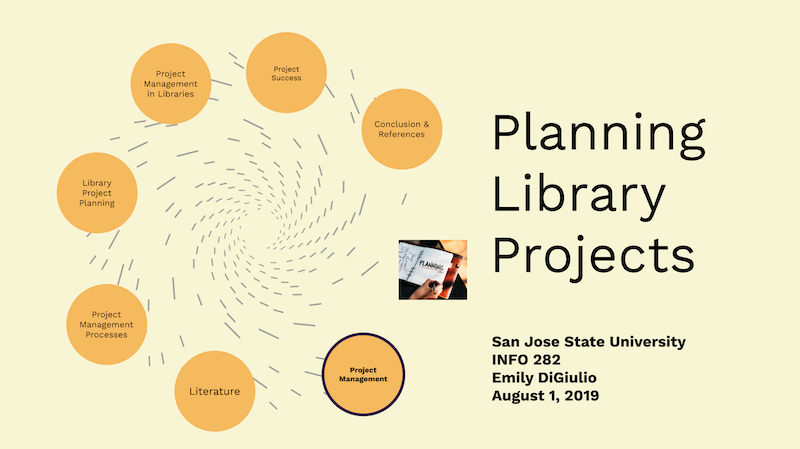 Title card: Planning Library Projects
