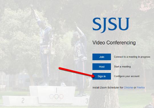 Account Set Up - SJSU - School of Information