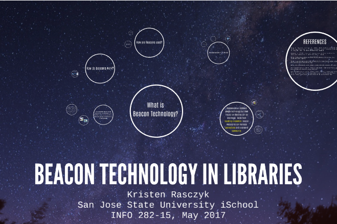 Beacon Technology in Libraries by Kristen Rasczyk, 2017
