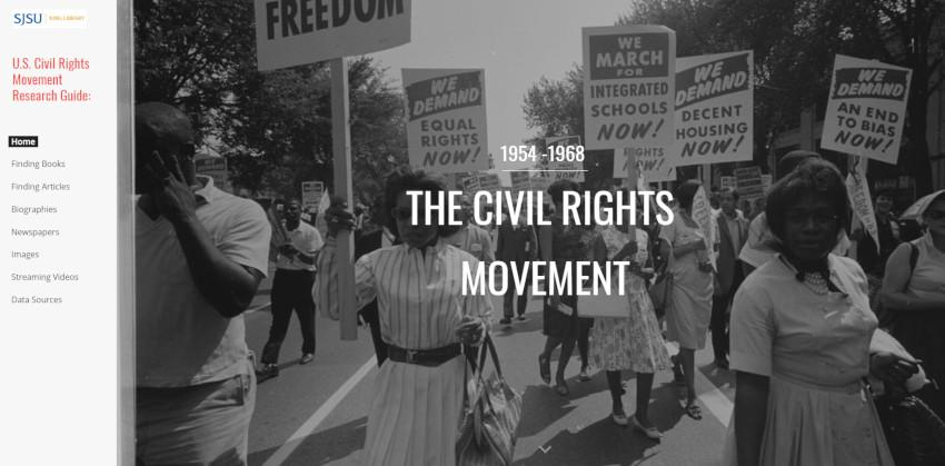 U.S. Civil Rights Movement Research Guide