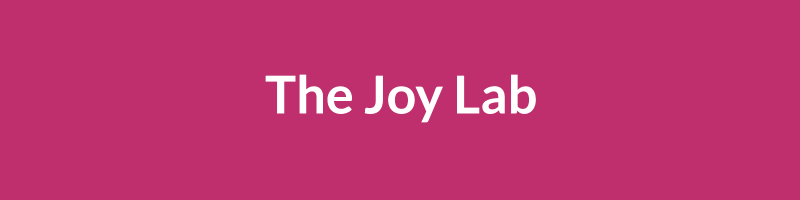 The Joy Lab project cover