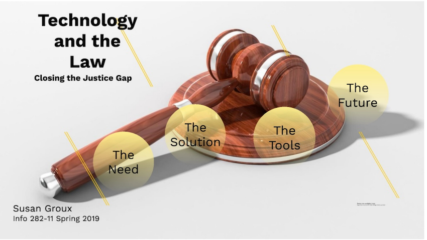 Technology and the Law: Closing the Justice Gap