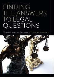 cover of book: Finding the Answers to Legal Questions