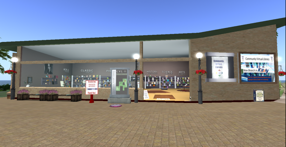 CVL Main Branch in Second Life