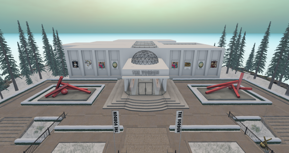 Picture of The Vordun Museum and Gallery in Second Life -- 1/31/2019