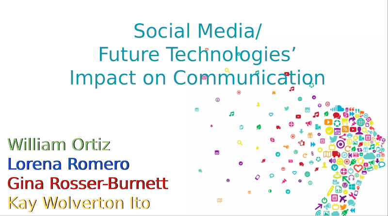 Social Media/Future Technologies' Impact on Communication