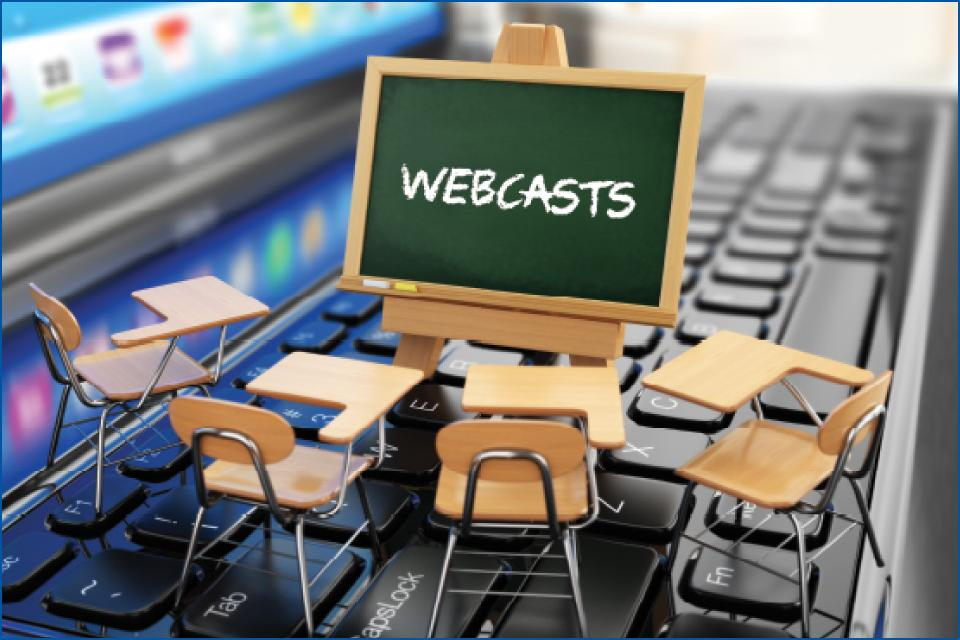 Webcasts Stock Image