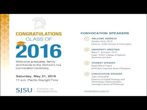 A Glorious Day for SJSU iSchool Graduates