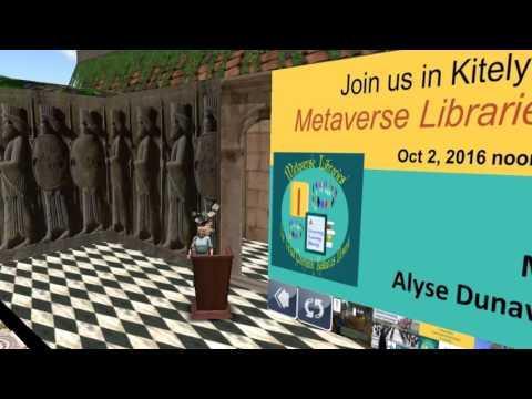 Metaverse Libraries:  Connecting Virtual World Communities