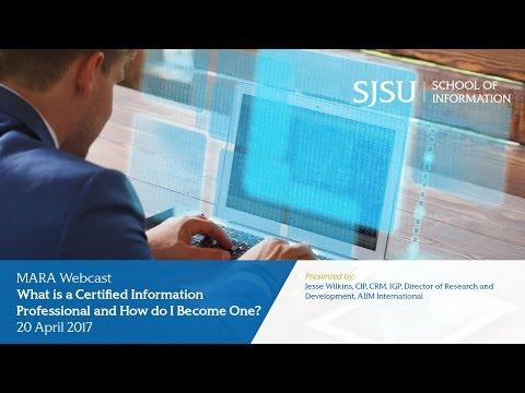 What is a Certified Information Professional and How do I Become One?