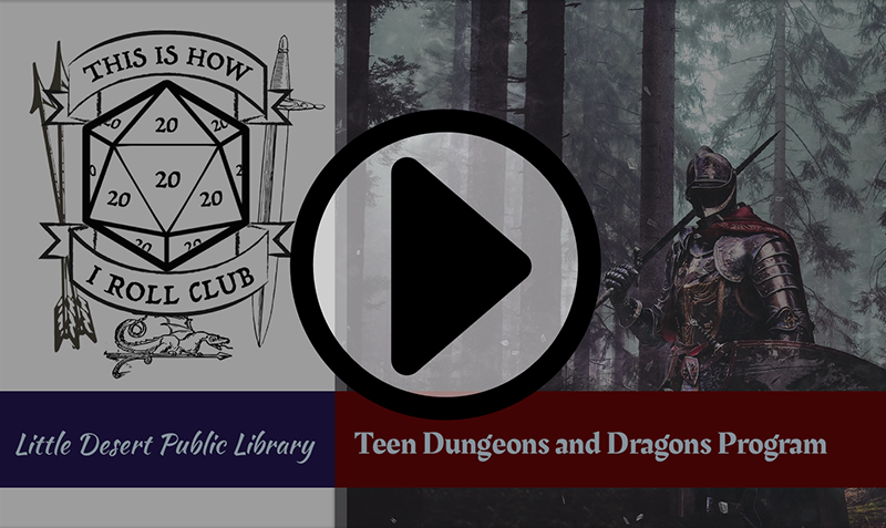 Little Desert Public Library Virtual Teen DnD Program