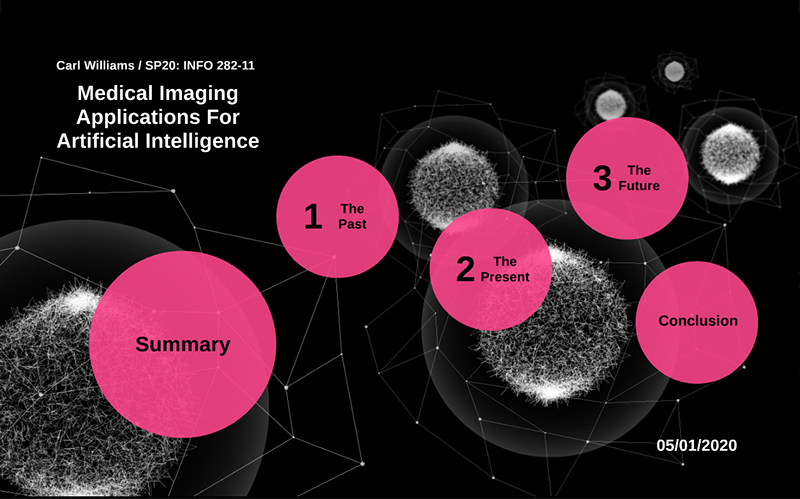 Medical Imaging Applications For Artificial Intelligence