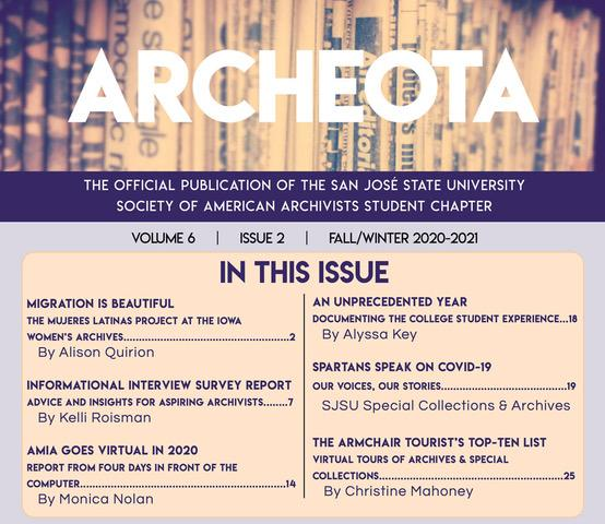 Archeota Table of Contents