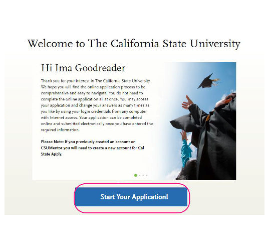 Welcome to the California State University