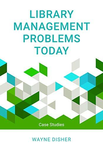 Library Management Problems Today Book Cover