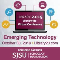 Library 2.019 Emerging Technology Web Conference Oct 30, 2019