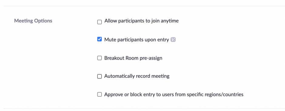 hosts if you set up a meeting which might be hosted by another person for example student group meetings note that alternative hosts must be listed