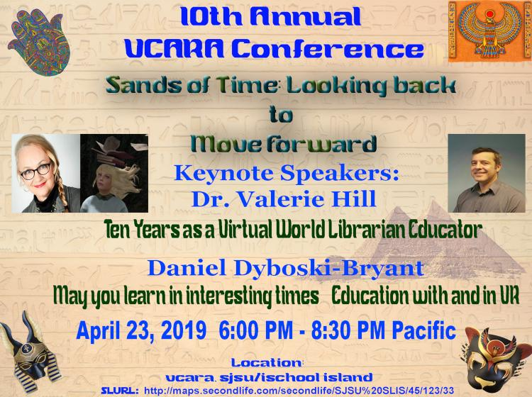 10th Annual VCARA Conference Poster: Keynotes